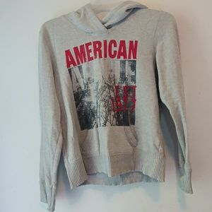 Two American Eagle Outfitters hoodies pullovers L